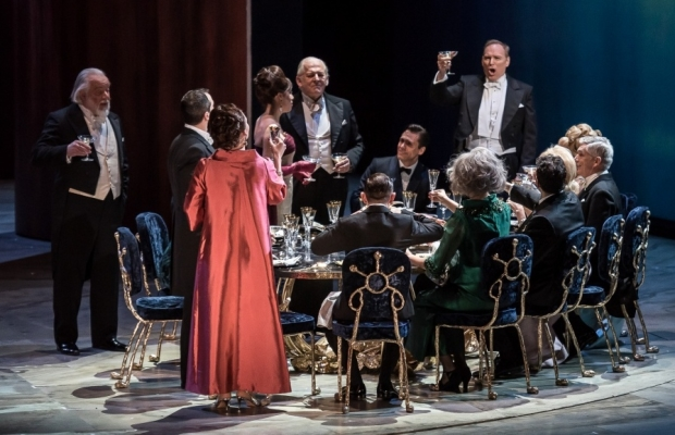 The Exterminating Angel by Thomas Adès, directed by Tom Cairns. International Opera Awards World Premiere of the Year (Salzburg Festival) (Photo: ROH)