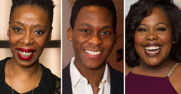 Noma Dumezweni, Tyrone Huntley and Amber Riley