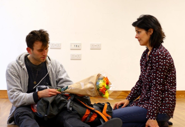 Harry Melling and Jasmine Hyde in Jam