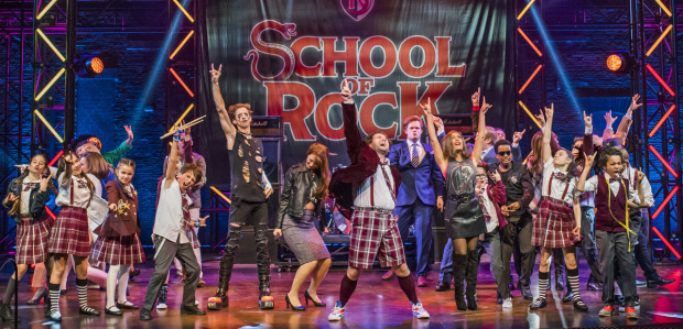 West End cast of School of Rock