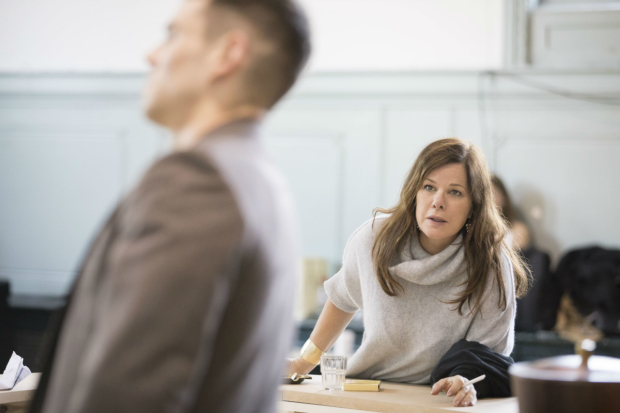 Marcia Gay Harden in rehearsal for  Sweet Bird of Youth
