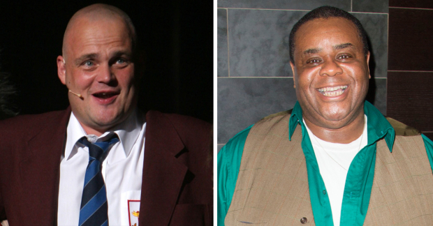 Al Murray and Clive Rowe
