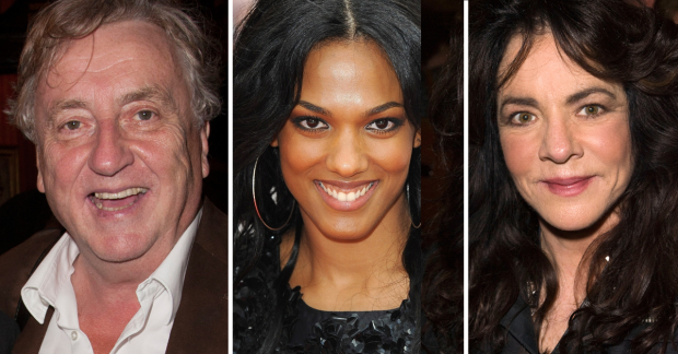Desmond Barrit, Freema Agyeman and Stockard Channing
