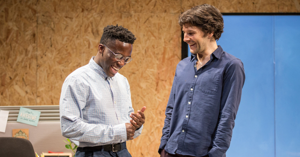 Bayo Gbadamosi and Colin Morgan in Gloria