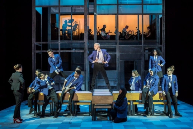 The cast of Everybody's Talking About Jamie
