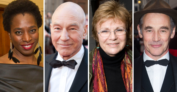 Tanya Moodie, Patrick Stewart, Julie Walters and Mark Rylance have all backed the manifesto