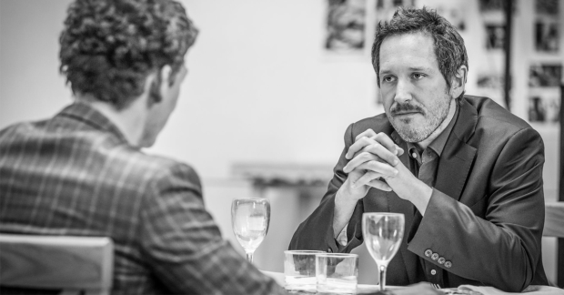 Bertie Carvel in rehearsals for Ink