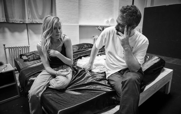Sienna Miller and Benedict Andrews