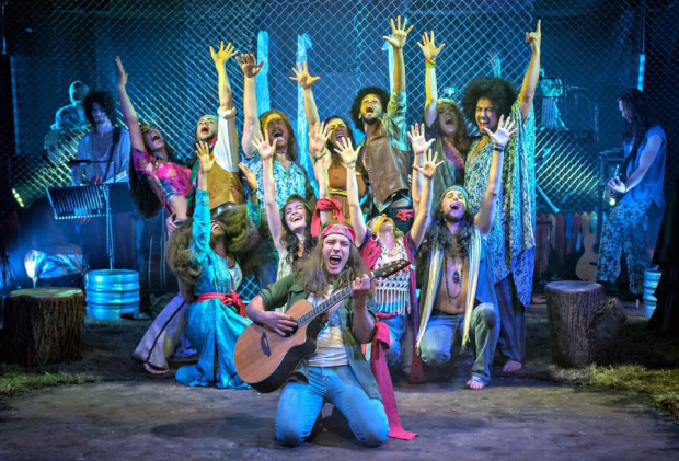 The Hope Mill Theatre company of Hair