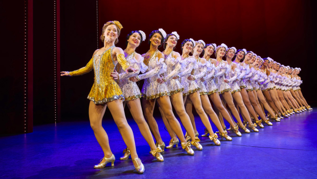 The company of 42nd Street