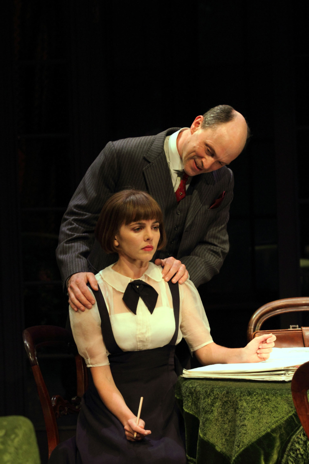 Ophelia Lovibond and Will Keen in The Stepmother
