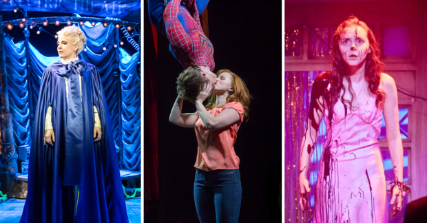 Louise Dearman in Water Babies, Spider Man: Turn Off the Dark, Evelyn Hoskins in Carrie