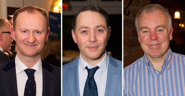 Mark Gatiss, Reece Shearsmith and Steve Pemberton