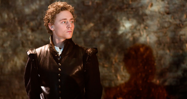 Tom Hiddleston as Cassio in Othello
