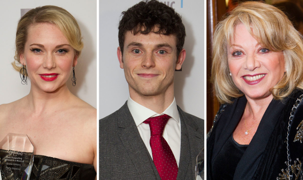 Emma Williams, Charlie Stemp and Elaine Paige