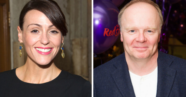 Suranne Jones and Jason Watkins