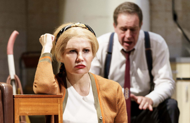 Karina Jones and Jack Ellis in Wait Until Dark