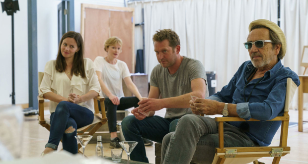 Robert Lindsay and the cast of Prism