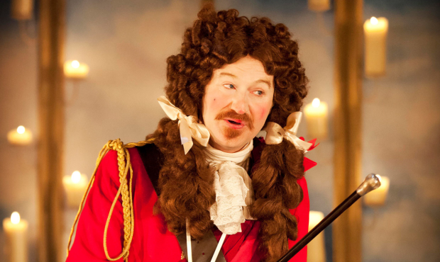 Mark Gatiss in The Recruiting Officer