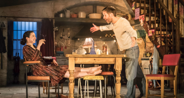 Laura Donnelly and Paddy Considine in The Ferryman
