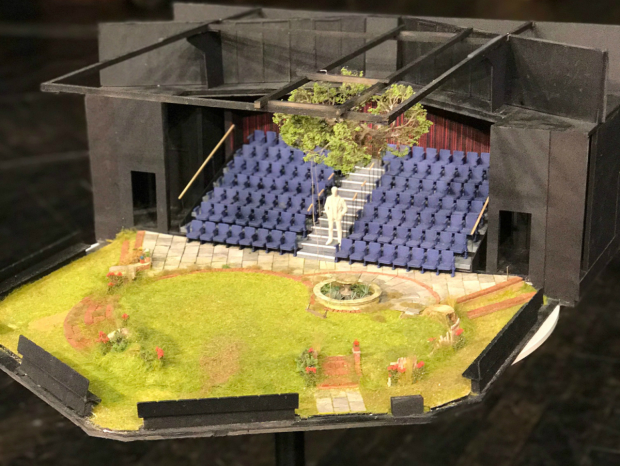 A model box for The Norman Conquests