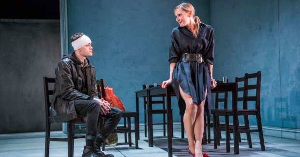 Brian Vernel and Lesley Sharp in The Seagull