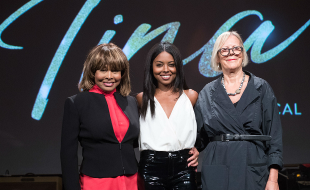 Tina Turner, Adrienne Warren and Phyllida Lloyd