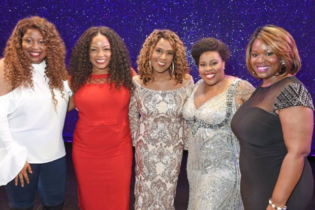 Karen Mav, Marisha Wallace, Jennifer Holliday, Amber Riley, Moya Angela