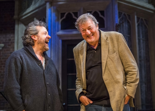 Stephen Fry hosts Playing Oscar, a pre-show talk at Vaudeville Theatre.