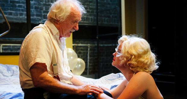 Simon Rouse and Alice Bailey Johnson in Insignificance