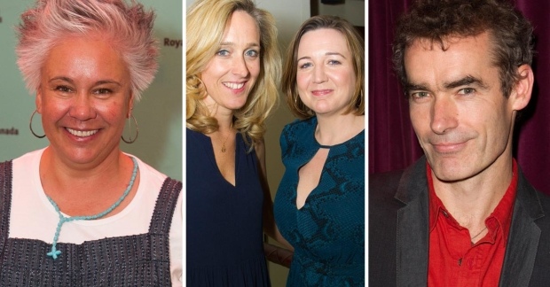 Emma Rice, Kate Packenham, Josie Rourke and Rufus Norris
