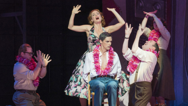 The cast of Trouble in Tahiti (Opera North)