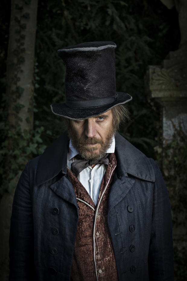 Rhys Ifans as Scrooge in A Christmas Carol