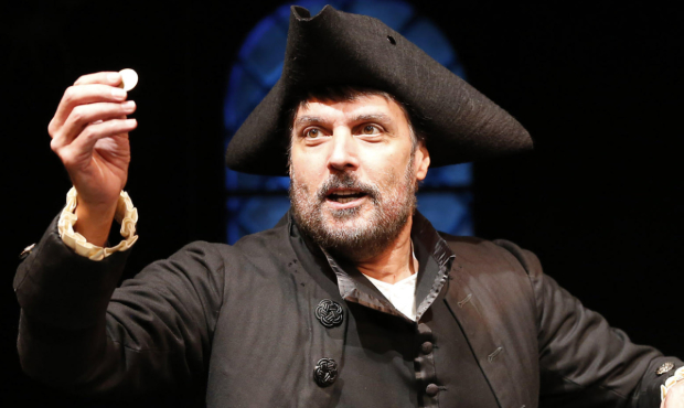 Robert Cuccioli in the York Theatre, NYC production of Rothschild & Sons