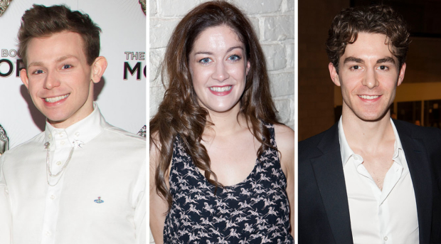 Mark Anderson, Julie Atherton and Louis Maskell