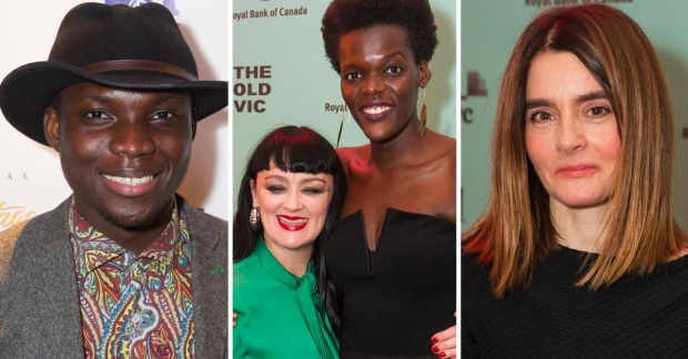 Emmanuel Kojo, Bronagh Gallagher and Sheila Atim and Shirley Henderson