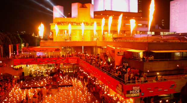 The National Theatre's Garden of Fire