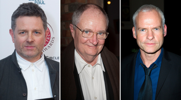 Matthew Dunster, Jim Broadbent and Martin McDonagh