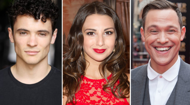 Jonny Labey, Zizi Strallen and Will Young