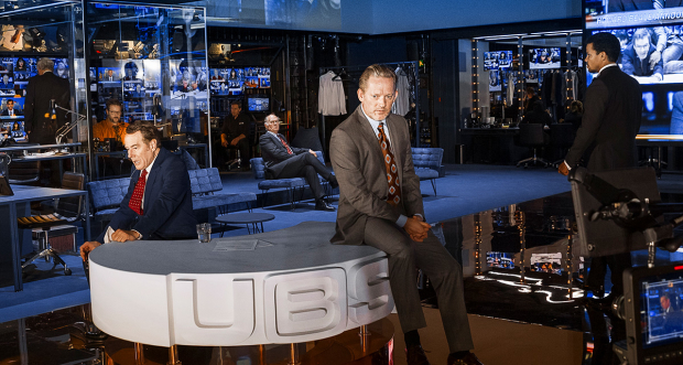Bryan Cranston and Douglas Henshall in Network