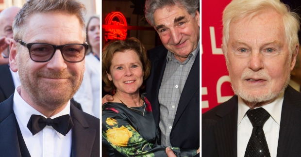Kenneth Branagh, Imelda Staunton, Jim Carter and Derek Jacobi