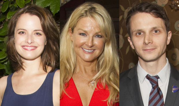 Hannah Britland, Sarah Hadland and Mark Quartley