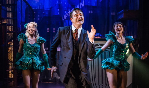 Tom Chambers in Crazy For You at the Watermill Theatre