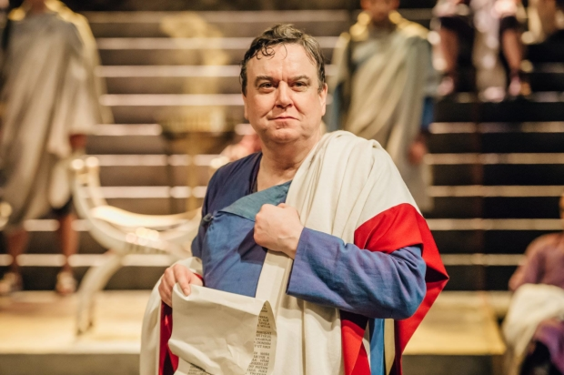 Richard McCabe as Cicero in Imperium Part I- Conspirator