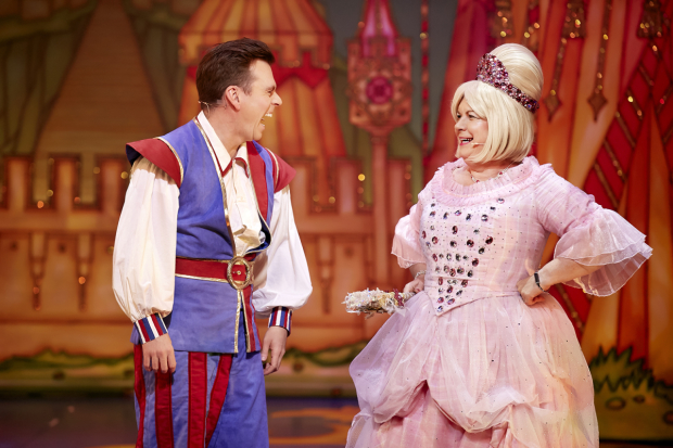 Johnny Mac and Elaine C Smith in Sleeping Beauty