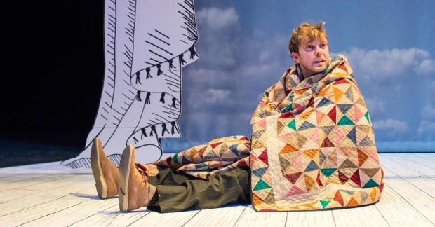 Christian Roe as Rabbit in The Velveteen Rabbit