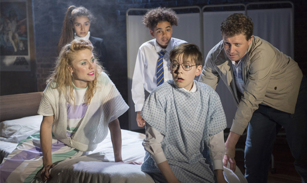 Kelly Price, Asha Banks, Amir Wilson, Benjamin Lewis and Dean Chisnall in The Secret Diary of Adrian Mole