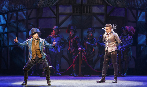 Rob McClure and Will Chase in Something Rotten!