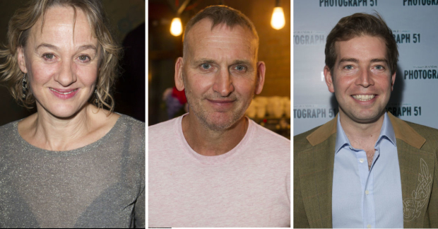 Niamh Cusack, Christopher Eccleston and Edward Bennett