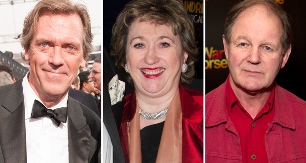 Hugh Laurie, Rosemary Squire and Michael Morpurgo were among those commended